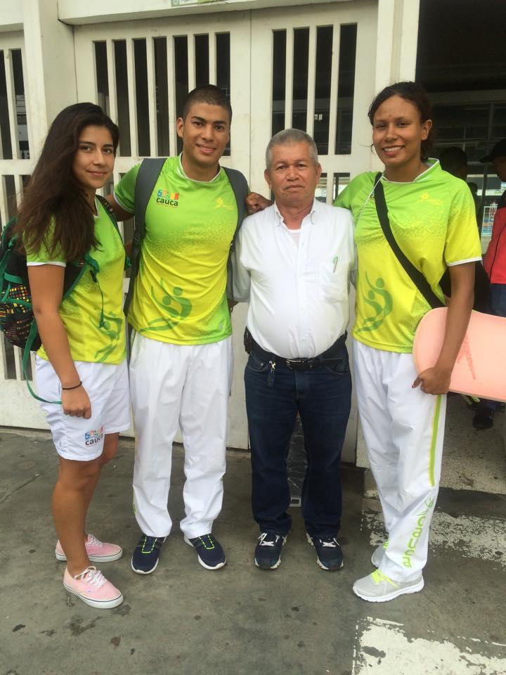 Alexandra Cordier, Oscar E. Mosquera y Diana Paola Moreno Alegria.