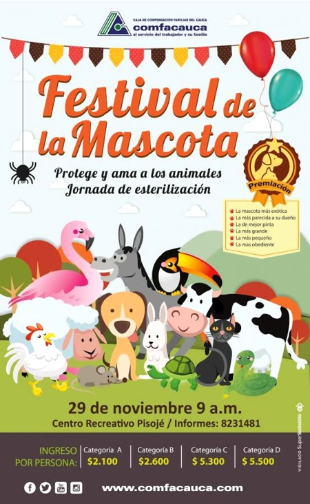 Festival de la Mascota - Comfacauca