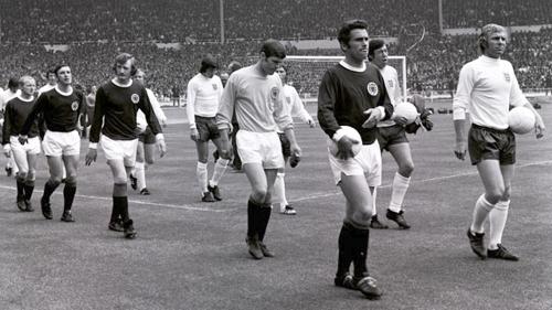 Inglaterra frente a Escocia - Primer partido de fútbol oficial