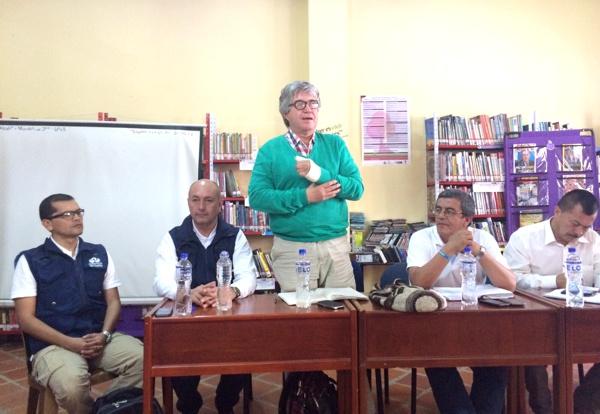 Mesa de Interlocución y Acuerdos en el municipio de Argelia, Cauca