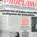 Hoy en la Historia: 10 de noviembre de 1984, crimen de Álvaro Ulcué, el cura indígena que defendió a los Nasa