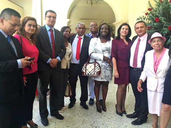Alcaldes del norte del Cauca y funcionarios de la Gobernación