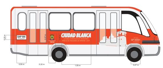 Bus Ciudad Blanca - SETP - Popayán