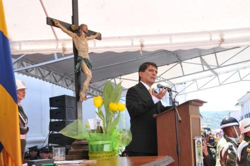 César Cristian Gómez Castro se posesionó como nuevo alcalde de Popayán