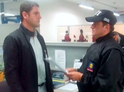 Capturan al alcalde de Yumbo, Fernando David Murgueitio Cárdenas