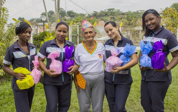 Comfacauca llevó alegría a los adultos mayores de Quilichao2