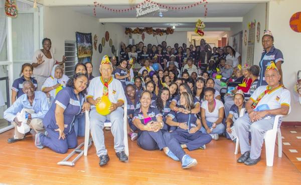 Comfacauca llevó alegría a los adultos mayores de Quilichao3