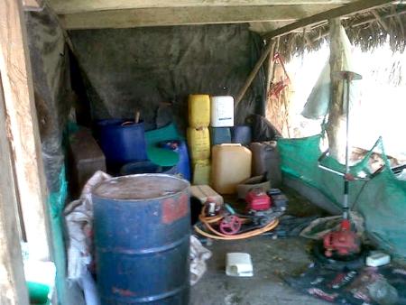 Destruyen laboratorio de coca en Suárez, Cauca