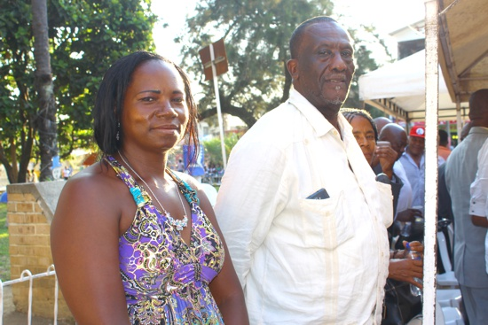 Faraón Angola en la posesión de Tobías Balanta en Puerto Tejada