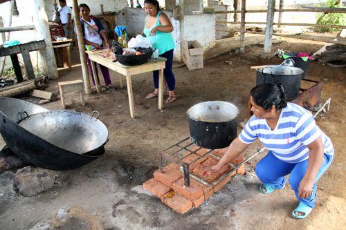 Hornillas a Biogas