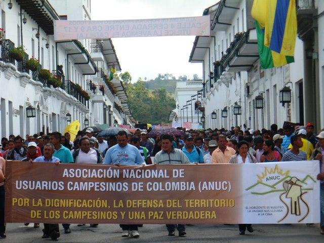 Junta Municipal Santander de Quilichao de la Asociación Nacional de Usuarios Campesinos de Colombia (ANUC) 1