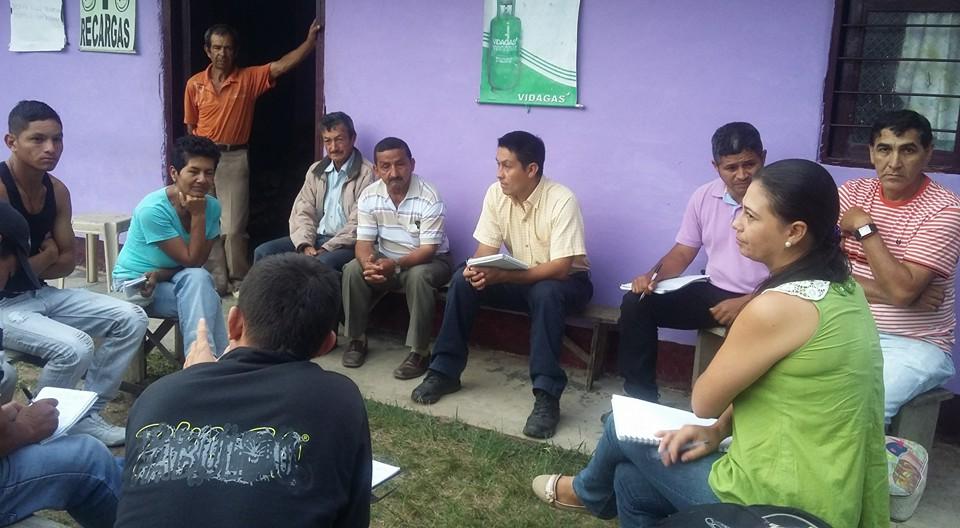Junta Municipal Santander de Quilichao de la Asociación Nacional de Usuarios Campesinos de Colombia (ANUC) 2