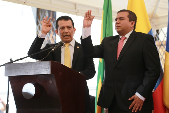 Oscar Rodrigo Campo Hurtado, gobernador del Cauca