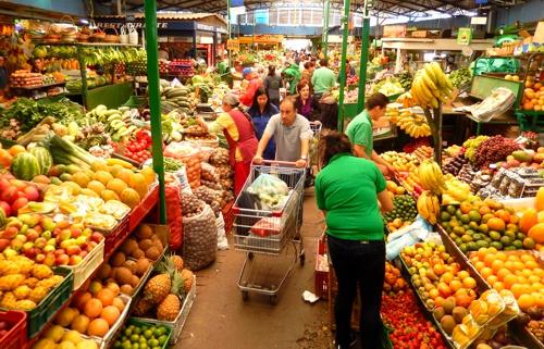 Precios de los alimentos - plaza de mercado