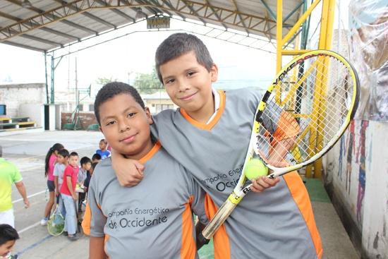 Primer Torneo de Tenis Copa Juventud con Energía - CEO1