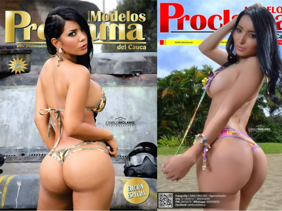 Revista Modelos Proclama del Cauca 2015