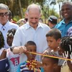Gobernador del Cauca culminó el año inaugurando obras de impacto para la región
