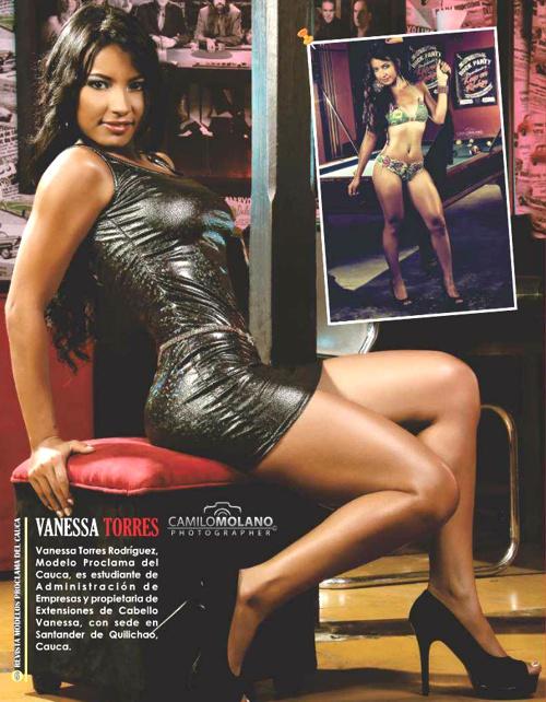 Vanessa Torres - Modelo Proclama del Cauca