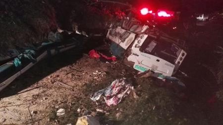 Accidente en Puracé, Cauca