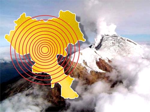 Alerta amarilla en el cauca por actividad sísmica