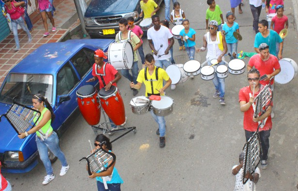 Carnavales de Blancos y Negros en Santander de Quilichao - Fotos Hernán Luna2