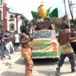 Carnavales de Negros y Blancos en Caldono, Cauca