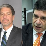 Embajador Kevin Whitaker y ministro para el Posconflicto, Rafael Pardo, en Quilichao