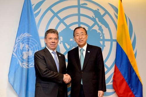 ONU apoya solicitud de Colombia para verificar cese al fuego y dejación de armas