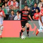 Santa Fe perdió ante el Bayer Leverkusen en Miami