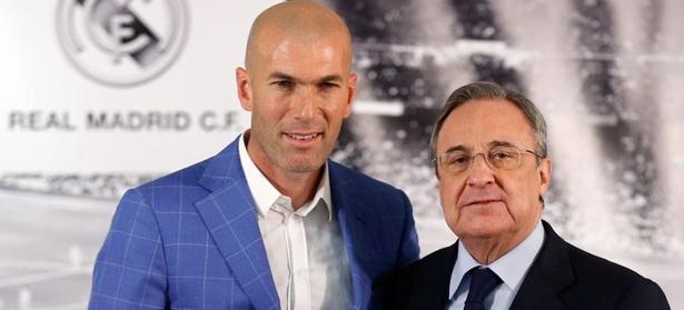 Zinedine Zidane, nuevo técnico del Real Madrid