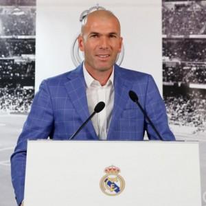Zinedine Zidane, nuevo técnico del Real Madrid1