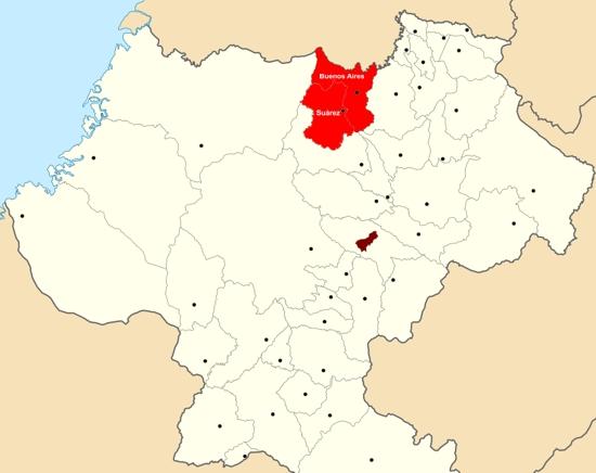 Buenos Aires y Suárez - Norte del Cauca - Imagen Proclama del Cauca