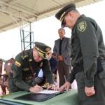 Nuevo comandante de la Región de Policía número cuatro