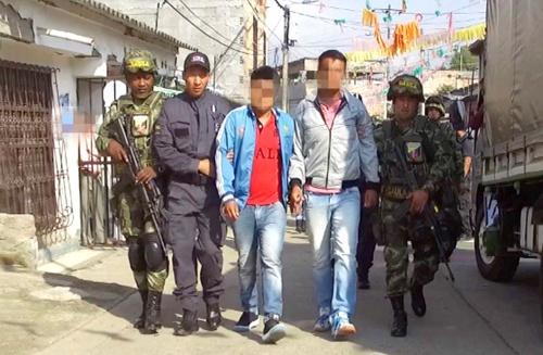 Desarticulan banda La Trilladora en Popayán