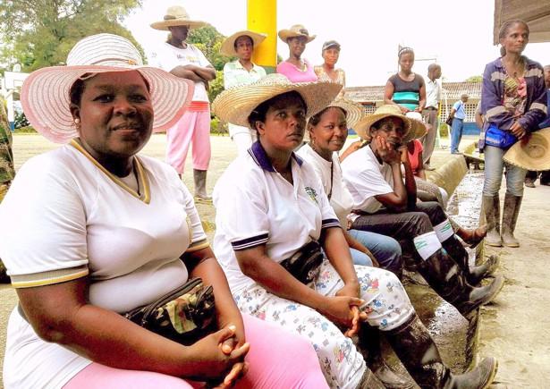 Mujeres trabajadoras de Guapi, Cauca