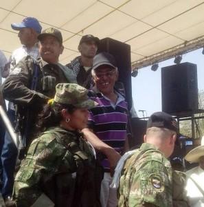 Presencia de las Farc con escoltas armados en La Guajira