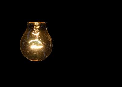 Ahorro de energía - bombillo
