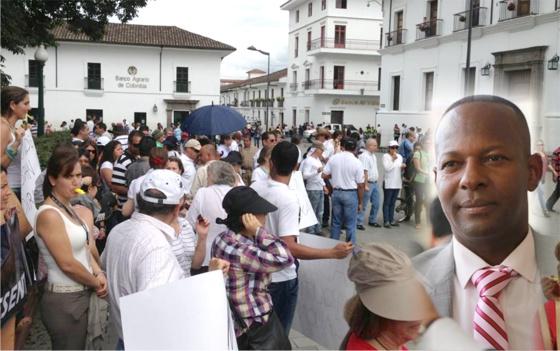 Elías Larrahondo Carabalí, hizo un llamado a la tolerancia frente al tema del PAE en el Cauca