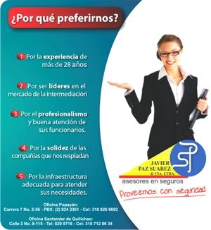 Javier Paz Suárez - Asesores en Seguros