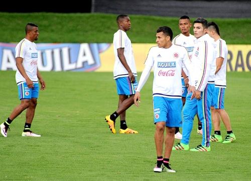 La Selección Colombia se prepara para enfrentar a Bolivia en La Paz
