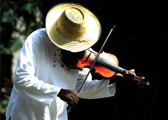 Los violines negros del Cauca