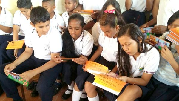Campaña de prevención del Zika en los colegios del Cauca