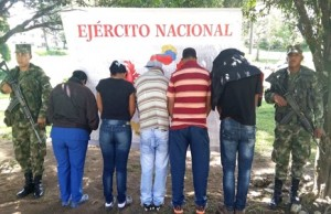 Capturadas 5 personas por microtráfico en Piendamó, Cauca