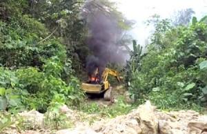 Contundente golpe a la minería ilegal en el Cauca
