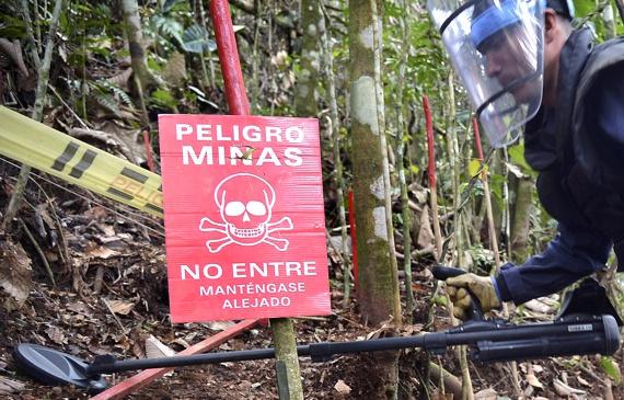 Desminado humanitario escolar civil en el Cauca