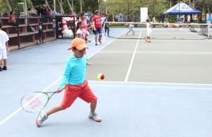 Festival recreativo infantil de tenis en Popayán - Comfacauca1