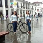 Instalan parqueaderos para bicicletas en el Parque Caldas de Popayán - ILC