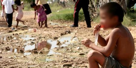 Los niños del hambre - La Guajira
