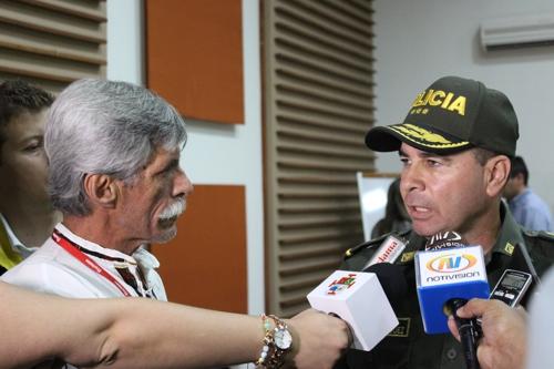 Mayor general Carlos Enrique Rodríguez González, comandante de la Región No. 4 de la Policía Nacional