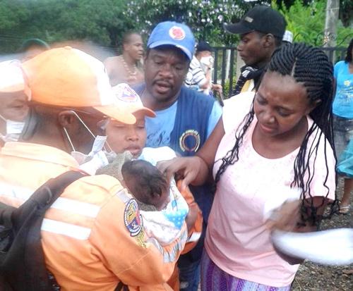 Un bebé fue evacuado por afectaciones de gases lacrimógenos del ESMAD en Cauca